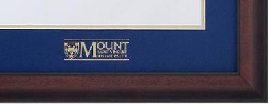 Corner with MSVU Logo Matting
