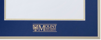 Corner with MSVU Logo Matting